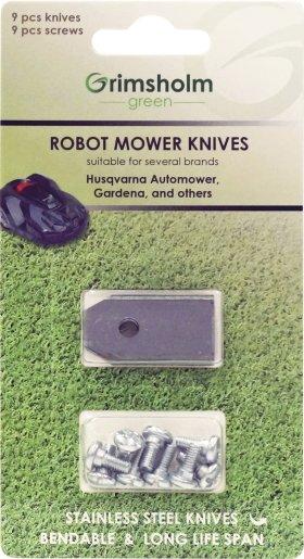 Nazīšu komplekts pļaujmašīnām - robotiem Automower, Gardena u.c.