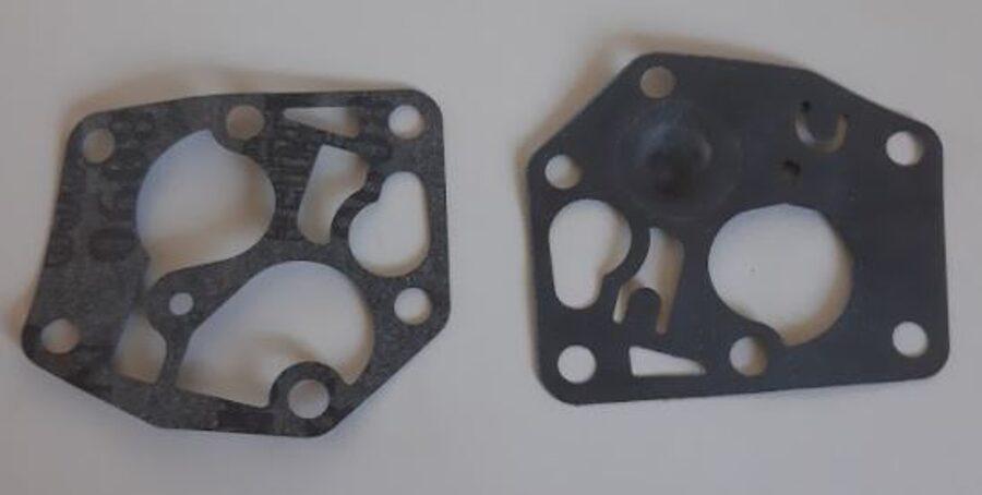 Membrānu komplekts B&S 3,75 z/s motoriem, 003-098