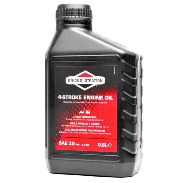Minerālā eļļa SAE30 mauriņa traktoriem, pļaujmašīnām, zemes frēzēm, 0,6l
