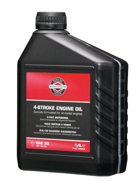 Minerālā eļļa SAE30 mauriņa traktoriem, pļaujmašīnām, zemes frēzēm, 1,4l